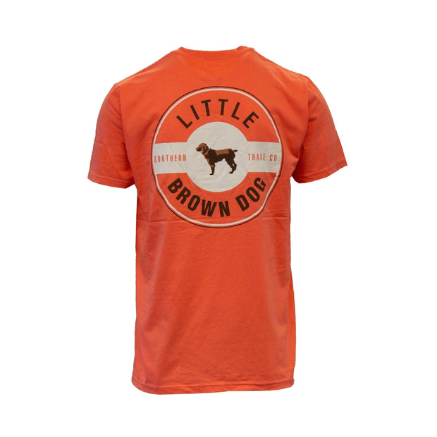 Copy of Little Brown Dog Classic Logo Short Sleeve T-Shirt T-Shirt Little Brown Dog Southern Trade Co Coral S