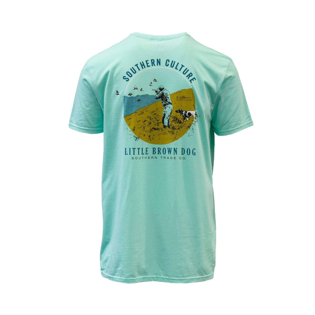 Copy of Southern Culture Hunt by Gordon Allen Short Sleeve T-Shirt T-Shirt Little Brown Dog Southern Trade Co