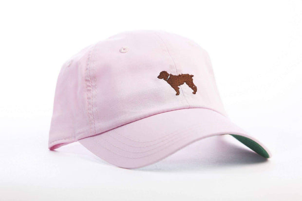 Little Brown Dog Lightweight Hat - Pink - Little Brown Dog Southern Trade Co