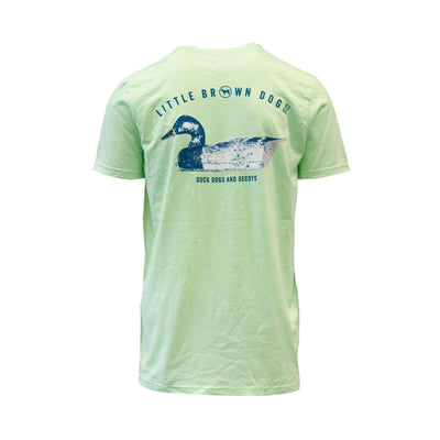 Copy of Decoy Short Sleeve T-Shirt T-Shirt Little Brown Dog Southern Trade Co Gulfshore Green S
