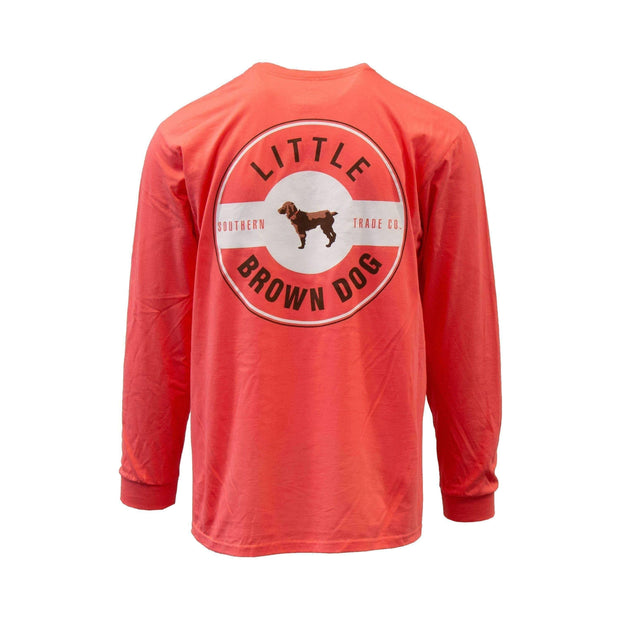 Little Brown Dog Classic Logo Long Sleeve T-Shirt - Little Brown Dog Southern Trade Co