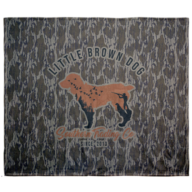 Little Brown Dog Blanket - Camo - Little Brown Dog Southern Trade Co