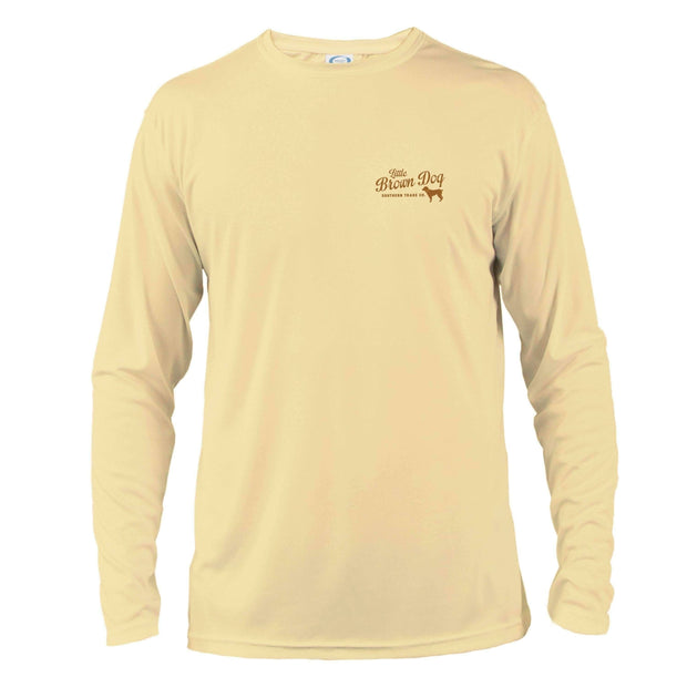 Little Brown Dog UPF 50+ Sun Protection Performance Long Sleeve T-Shirt - Little Brown Dog Southern Trade Co