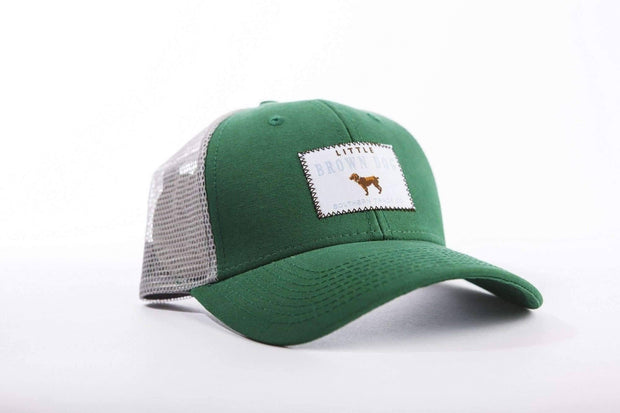 Little Brown Dog Trucker Hat - Green - Little Brown Dog Southern Trade Co