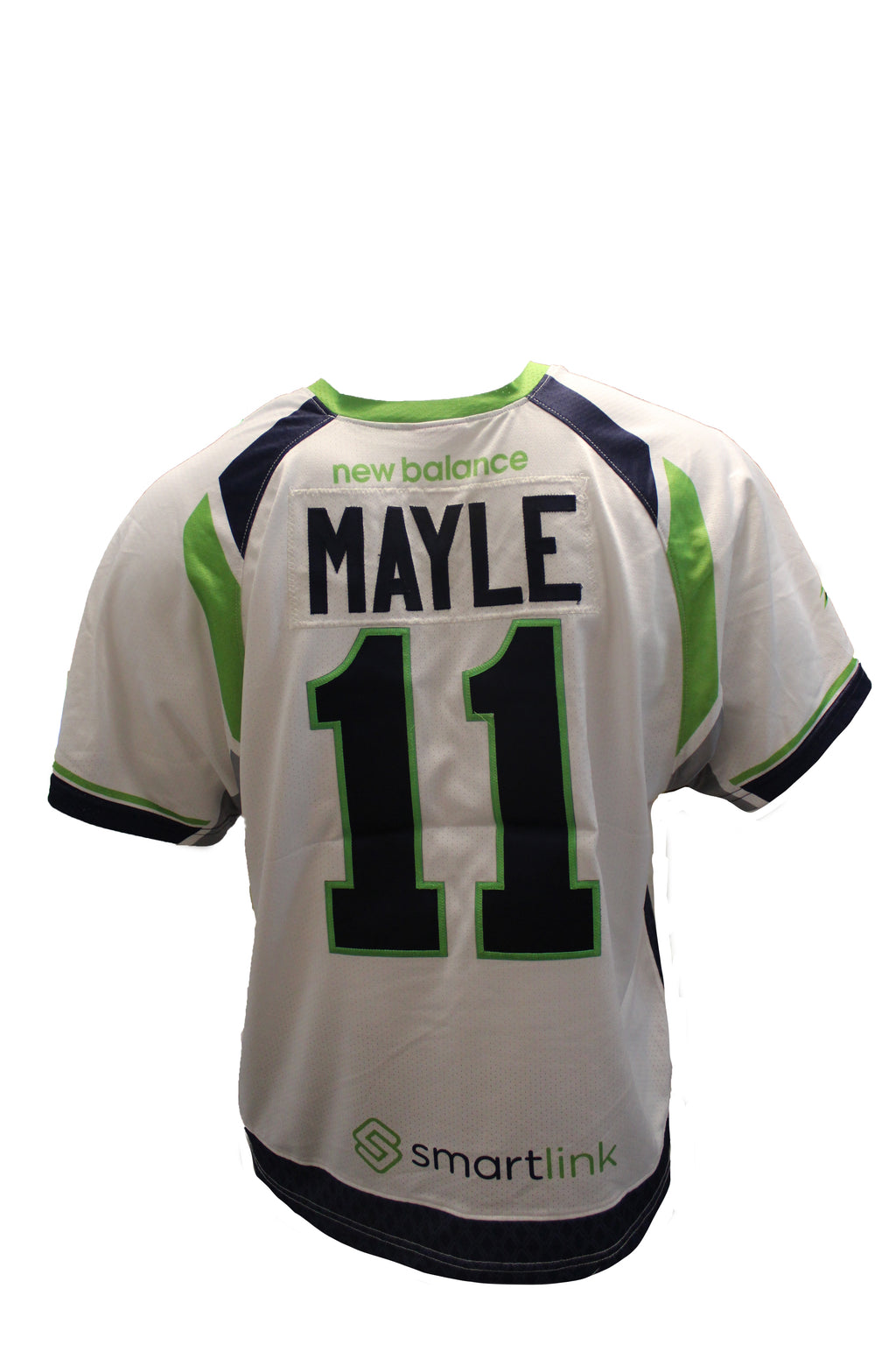 2018 Sean Mayle Game-Worn White Jersey