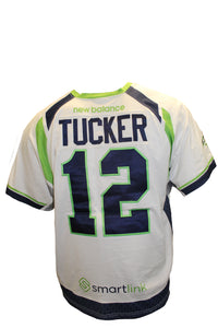 2018 Ryan Tucker Game-Worn White Jersey