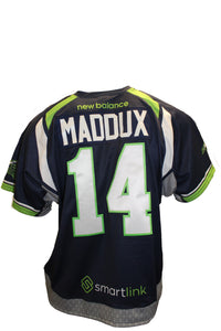 2018 Rob Maddux Game Worn Blue Jersey