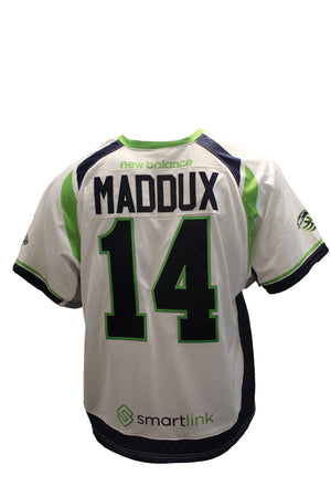 2018 Rob Maddux Authentic White Jersey