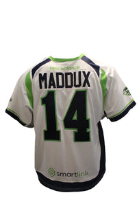 2018 Rob Maddux Game Worn White Jersey