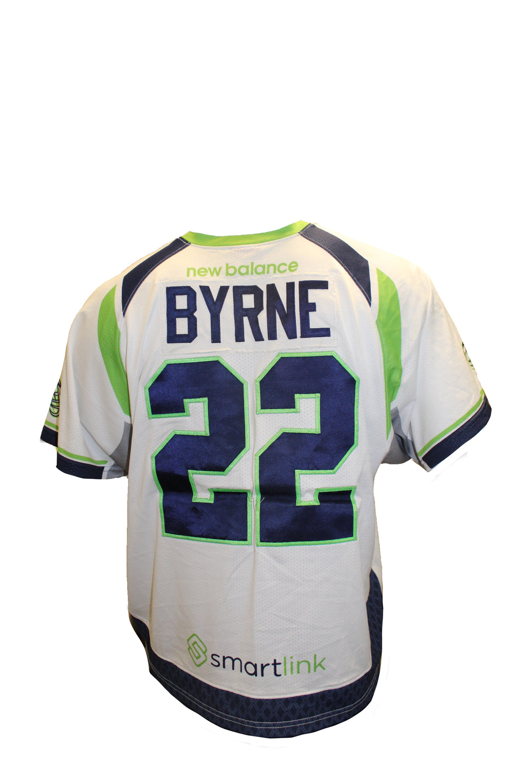 2018 Josh Byrne Game-Worn White Jersey