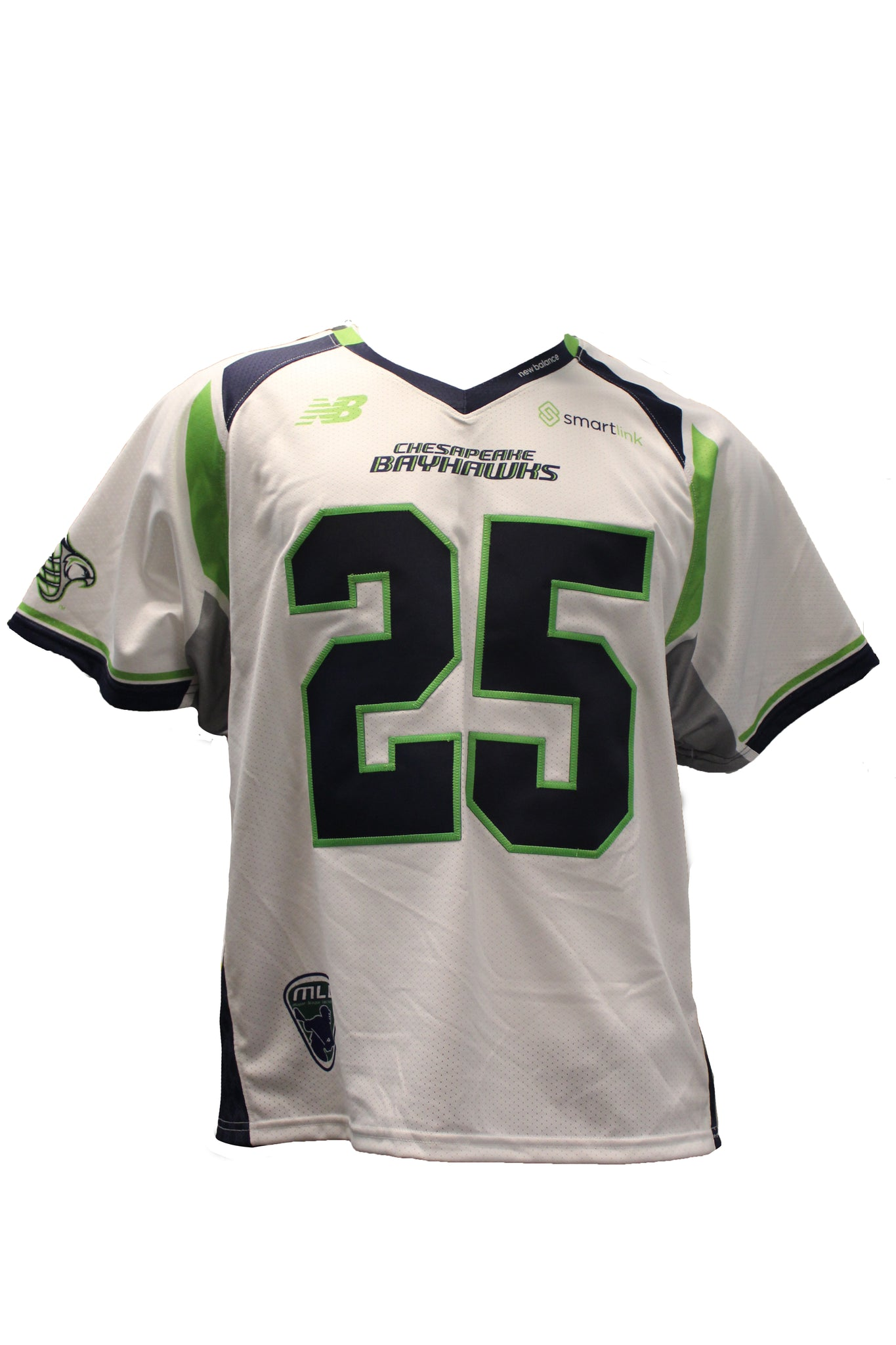 2018 Ryan Hursey Game-Worn White Jersey