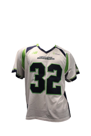 2018 Steele Stanwick Game-Worn White Jersey