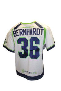 2018 Jesse Bernhardt Game-Worn White Jersey