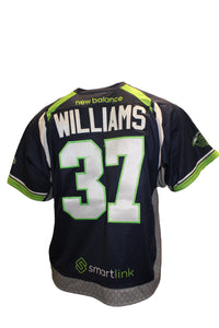 2018 Ben Williams Game-Worn Blue Jersey