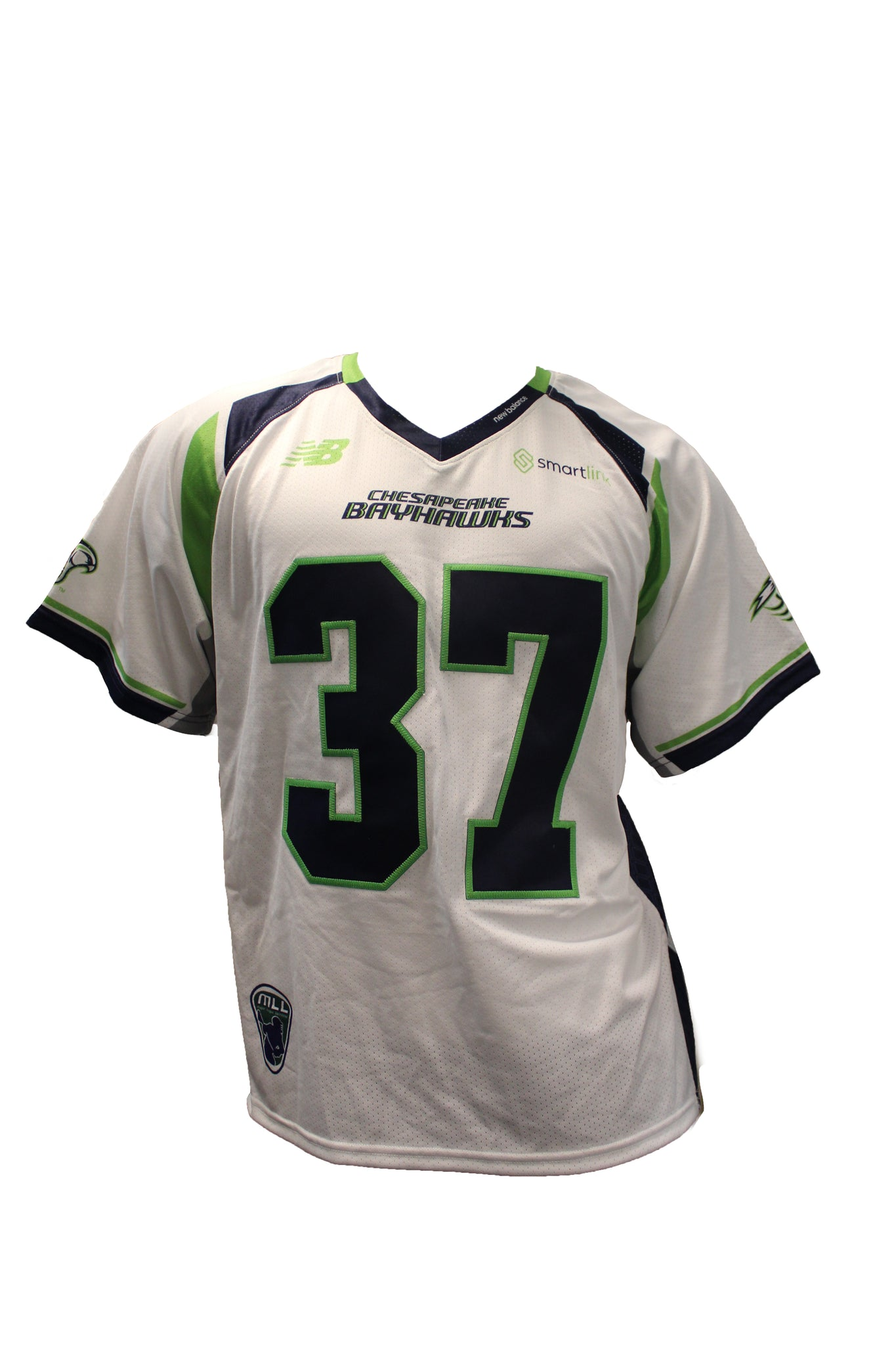 2018 Ben Williams Game-Worn White Jersey