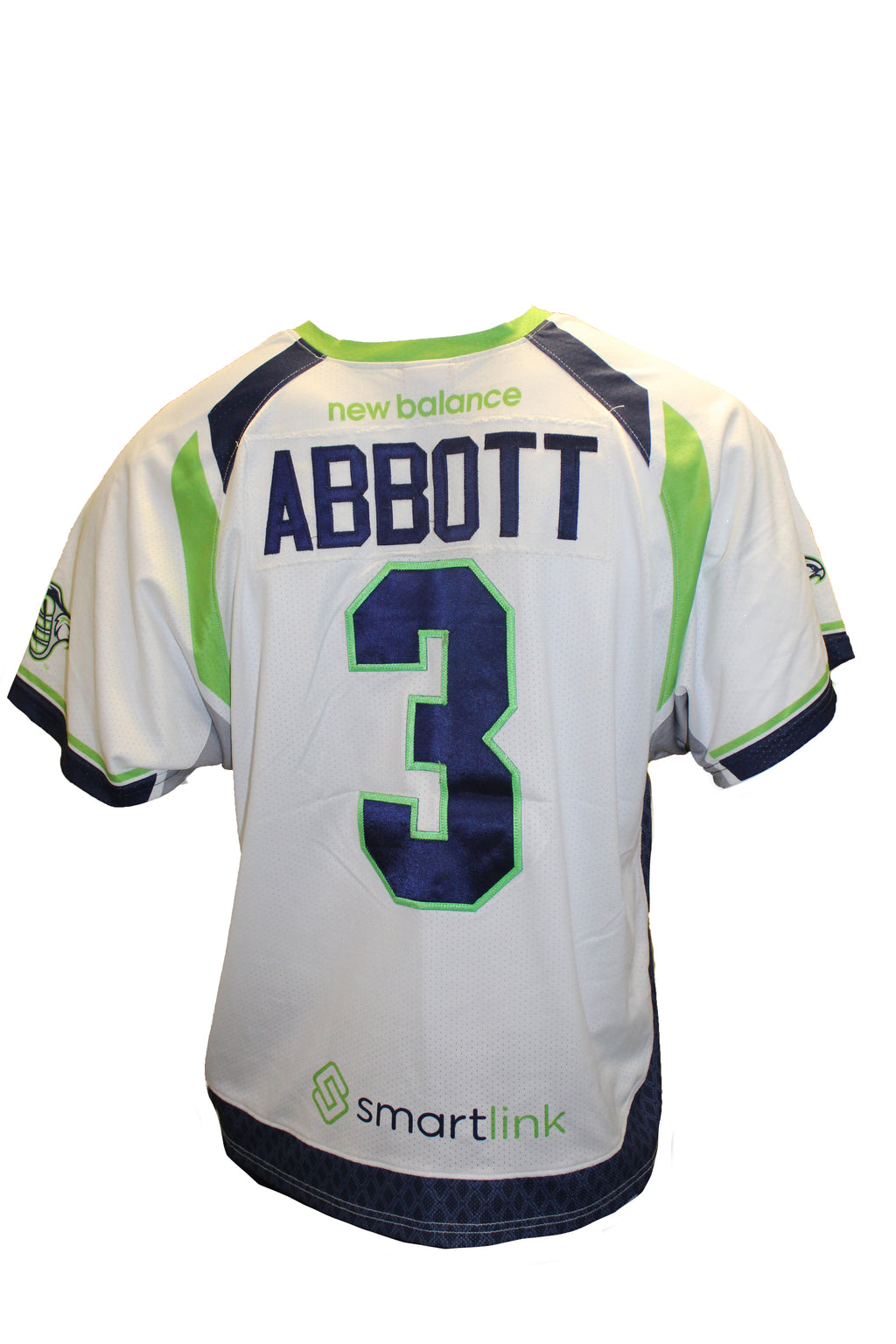 2018 Matt Abbott Game-Worn White Jersey