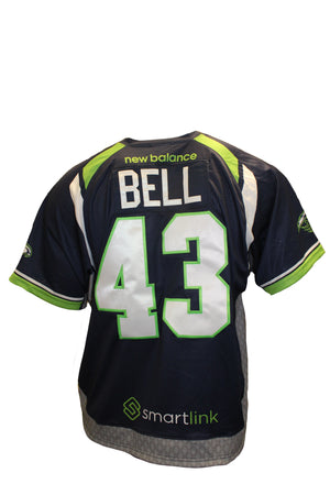 2018 Tyson Bell Authentic Blue Jersey