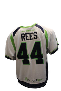 2018 Matt Rees Game-Worn White Jersey