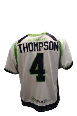 2018 Lyle Thompson Game-Worn White Jersey