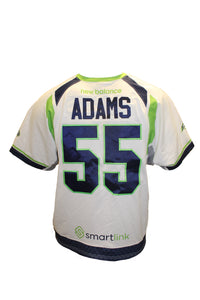 2018 Jack Adams Game-Worn White Jersey