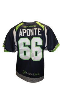 2018 Nick Aponte Game-Worn Blue Jersey