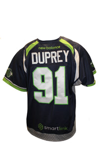 2018 Luke Duprey Game-Worn Blue Jersey