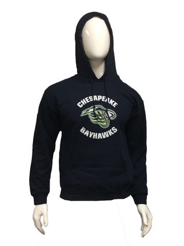 Youth Navy Sweatshirt Circle Logo