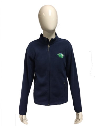 All In Navy Youth Full Zip