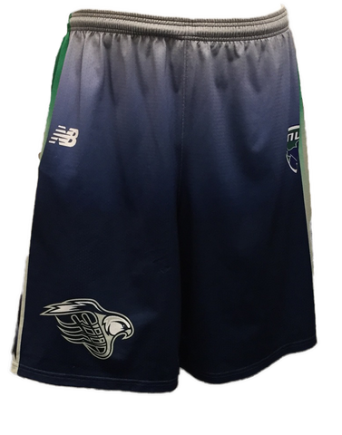 Bayhawks Wing Uniform Blue Jersey Shorts - New Balance
