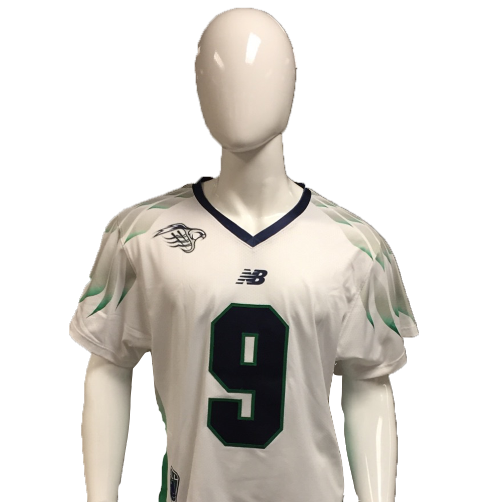 CJ Costabile Game-Worn White Jersey