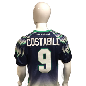 CJ Costabile Game-Worn Blue Jersey