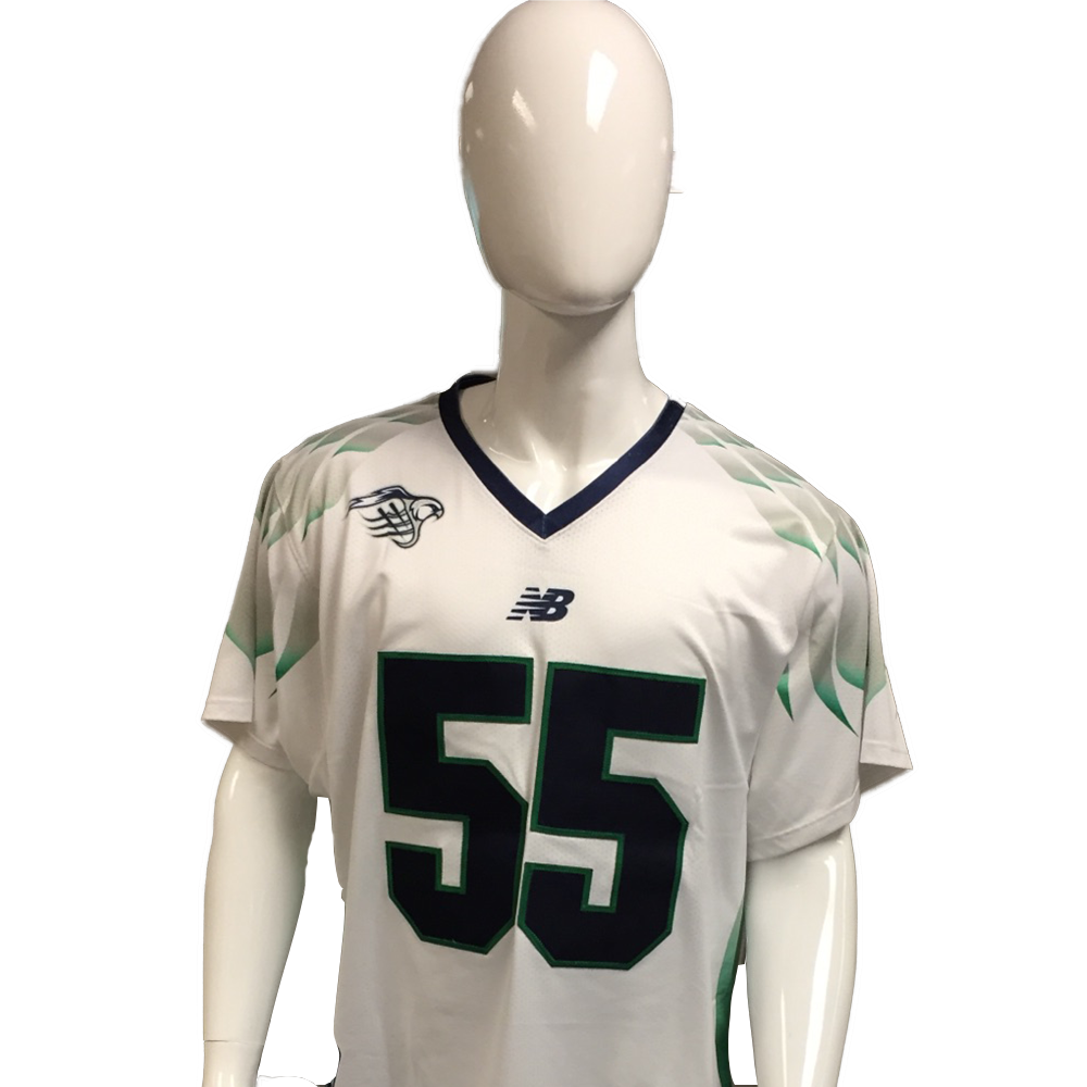 Rookie Year: Chris Fennell Game-Worn White Jersey