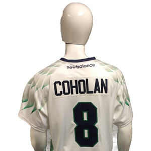 Greg Coholan Game-Worn White Jersey