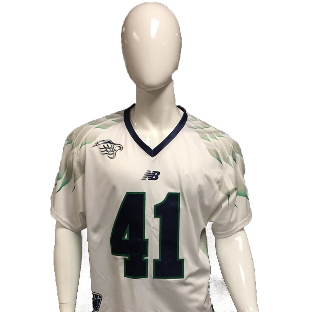 Kevin Cooper Game-Worn White Jersey