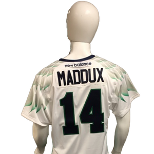 Rob Maddux Game-Worn White Jersey