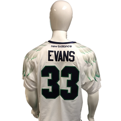 Mike Evans Game-Worn White Jersey
