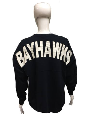 Womens Navy Game Day Spirit Jersey