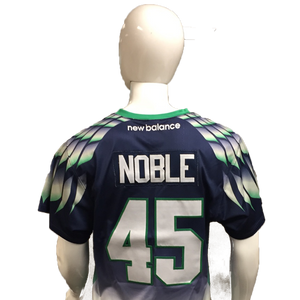 Jason Noble Game-Worn Blue Jersey