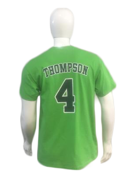 Player Tees- Green- Thompson #4