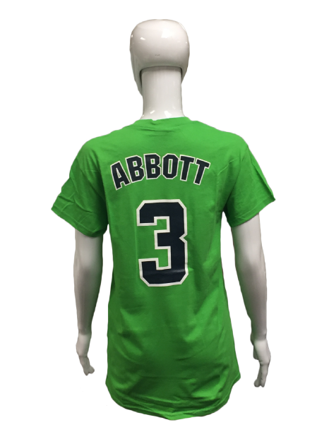 Player Tees - Green - Abbott #3
