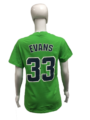 Player Tees - Green - Evans #33