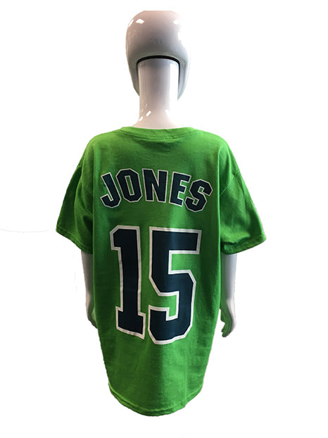 Player Tees-Green-Jones #15