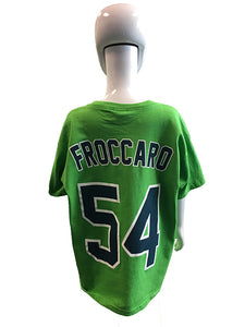 Player Tees - Green- Froccaro #54