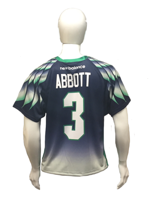 2017 Replica Jersey-Navy- Matt Abbott #3