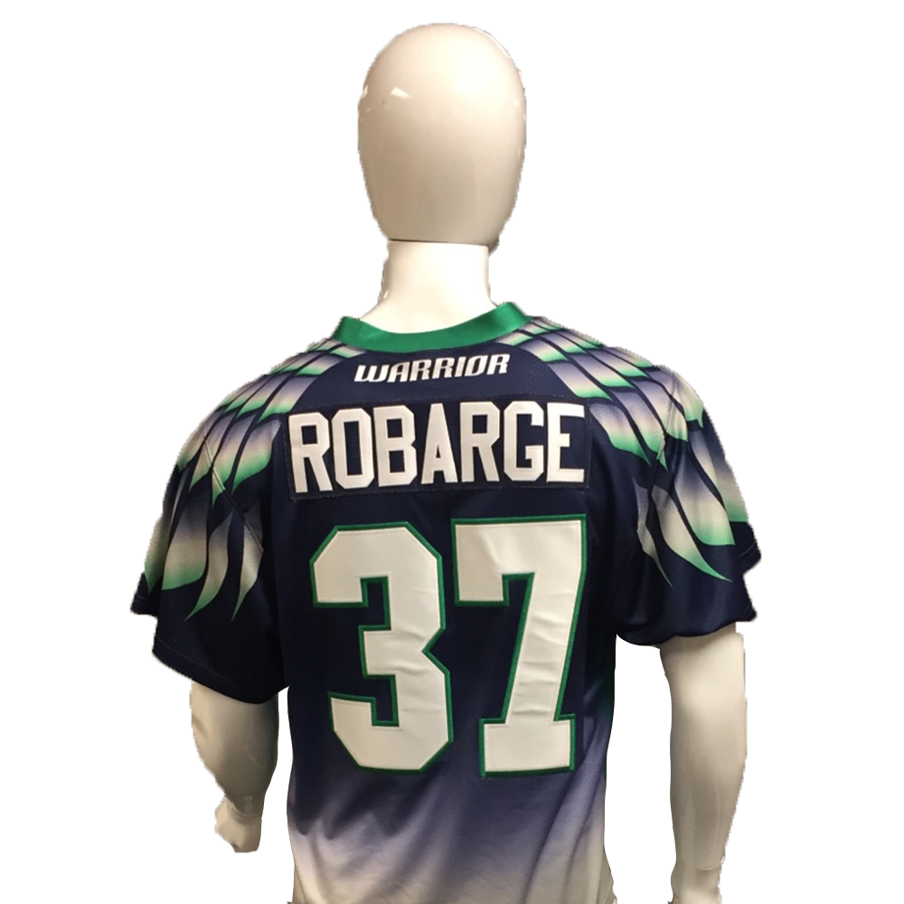 Stephen Robarge Game-Worn Blue Jersey
