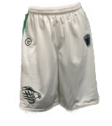 Bayhawks Wing Uniform White Jersey Shorts - Warrior
