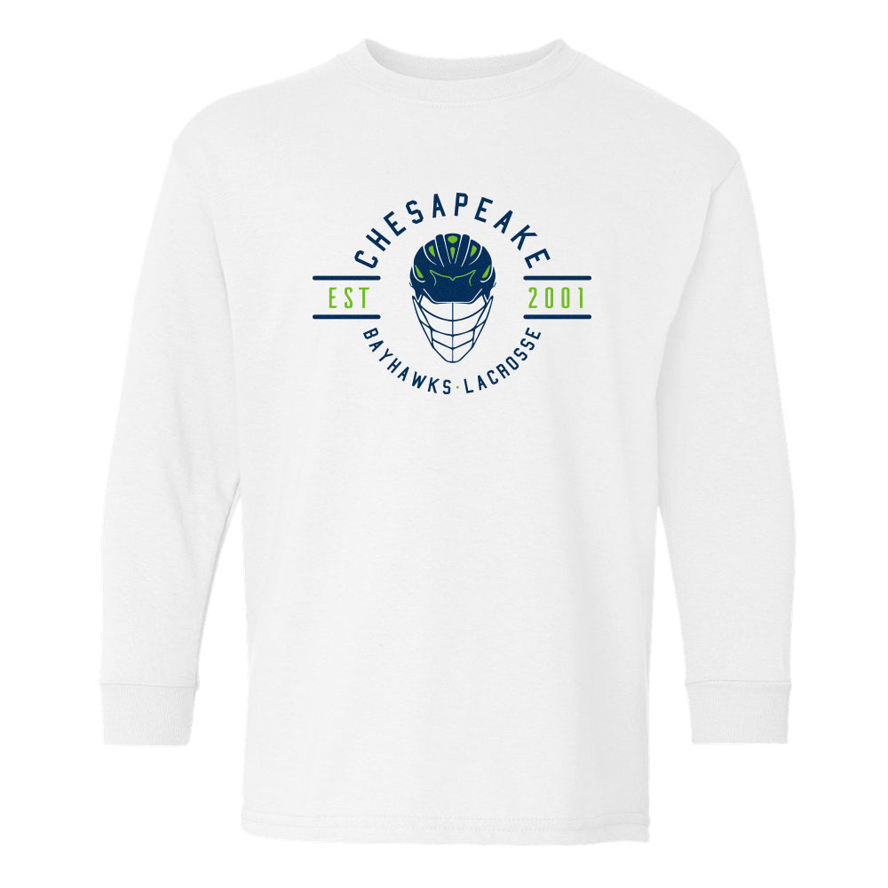 Rep The Helmet LS Youth Tee