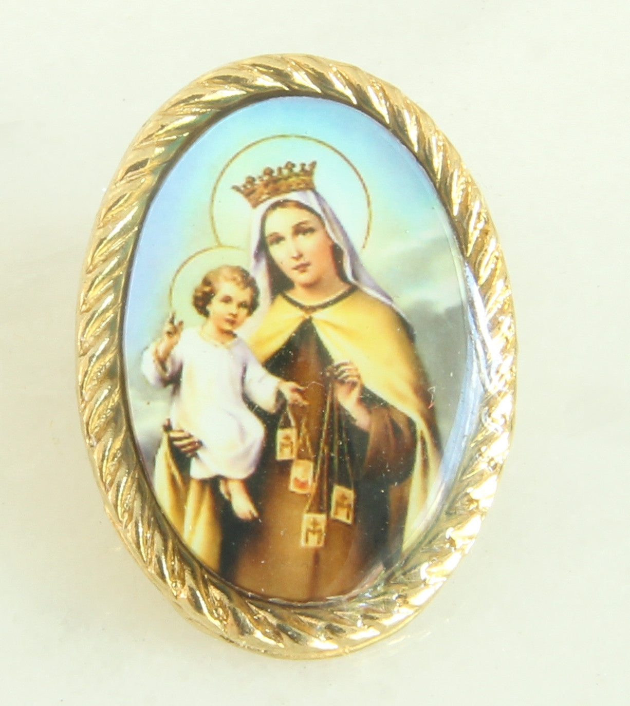 Our Lady Of Mount Carmel Lapel Pin  IRMASD1871