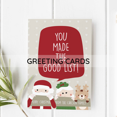 holiday greeting cards personalized