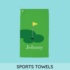 personalized microfiber sports towels